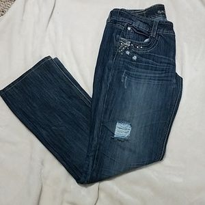 """Almost Famous jeans- size 7- altered to 30"""" inseam"""